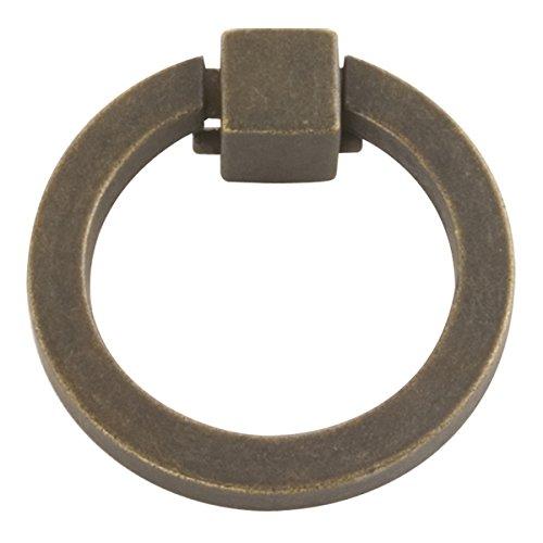 Hickory 2 Schublade (Hickory Hardware 2kamarilla Ring Schrank Pull, Windover Antique, 5 cm)