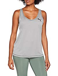 Puma Active Tank Top, Mujer, 851773, Gris, Small