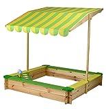beluga Spielwaren 54363 - Sandkastenmodul Eis Lemon, gelb / grün