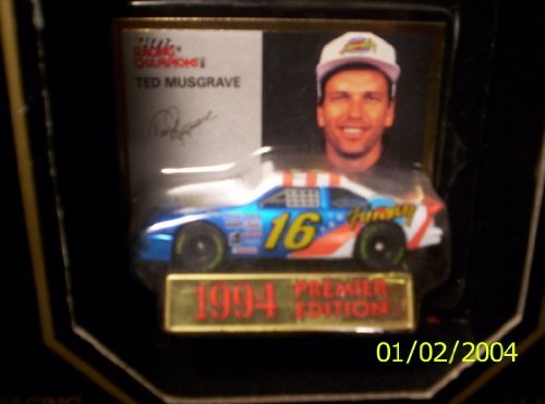 Racing Champions 1994 Ted Musgrave #16 Premier Edition 1:64 scale by Racing Champions