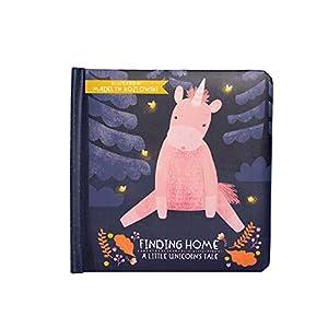 Manhattan Toy Finding Home - Libro de bebé de un pequeño Unicornio, a Partir de 6 Meses