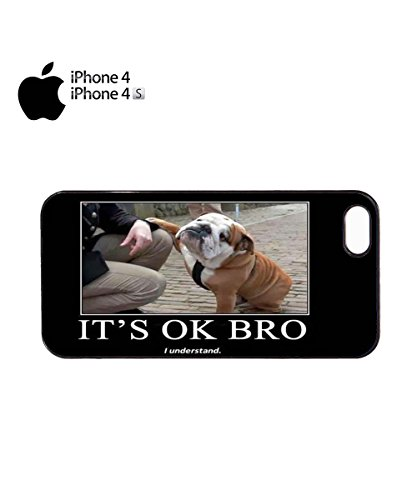 It's Ok Bro Understand Funny Dog Animal Cute Mobile Phone Case Cover iPhone 6 Plus + White Noir