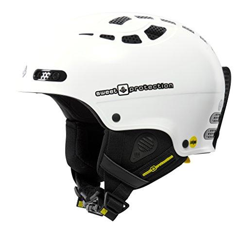 Sweet Protection Helmet Igniter MIPS, Satin White, S/M, 840007 (Satin Wool Hose)