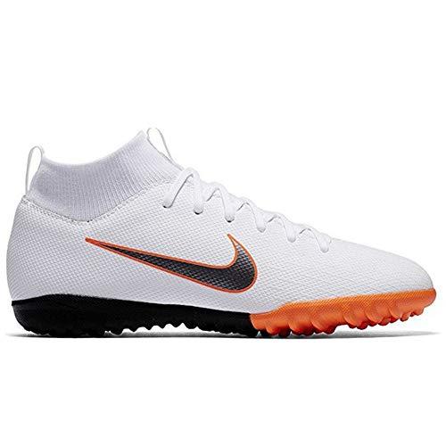 Nike Unisex-Kinder Mercurial SuperflyX VI Academy TF Fußballschuhe, weiß, 36.5 EU -