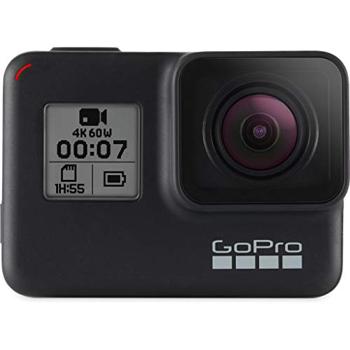 GoPro hero7 - Action Camera 4K con Hypersmooth, Stabilizzazione video e Live streaming - Nero