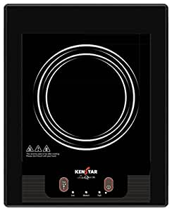 Kenstar Queen KIQ16BP3 1600-Watt Induction Cooktop (Black)