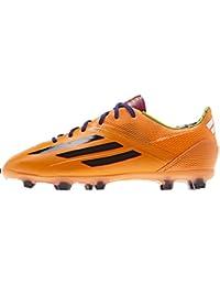 adidas F50adiZero TRX FG–Botas de fútbol infantiles color naranja/Schwarz Talla: 5.5Uk–38.2/3EU