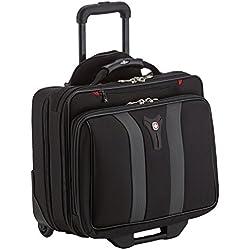 """Wenger 600659 17"""" Tranvía Negro maletines para portátil - Funda (Tranvía, Negro, Monótono, Resistente al polvo, Resistente a rayones, Resistente a golpes, A prueba de salpicaduras)"""