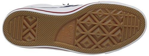Converse Sp Core Canv Ox 289161-52-10 Unisex - Erwachsene Sneaker Weiß (White/White/Navy)