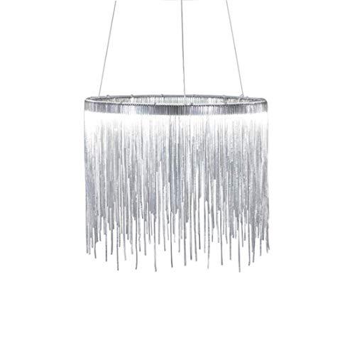 ZRR Moderner Quastenleuchter, kreative LED-Kunstwohnzimmeresszimmerleuchter-Modestablampe, industrielle Deckenleuchte-Weinlese-Leuchter-Metallleuchter-Ausgangsbeleuchtung -