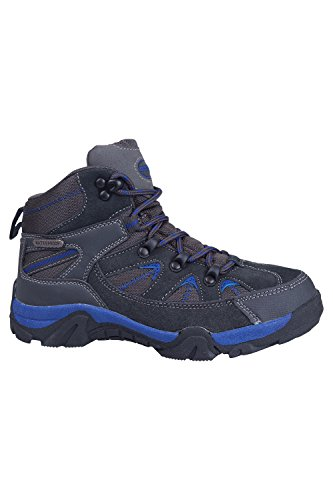 Mountain Warehouse Rapid Chaussure Enfants Fille Garçon Bottes Randonnée Marche Imperméable Confort Bleu