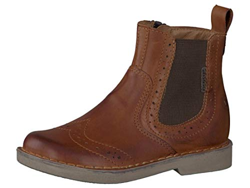 Chelsea Boot »NEW WORK« bequeme Stiefelette aus Rindsleder Made in Portugal | Reitschuh mit robuster Gummisohle und Innenleder | Schuh Schlupf Stiefel