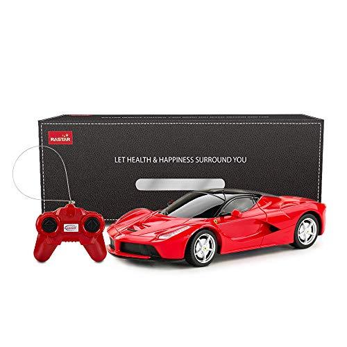 rastar La Ferrari Voiture télécommandée 1:24 Ferrari RC pour Enfants Rouge