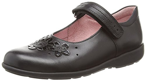 Start-rite Fleur, Girls' Mary Jane, Black (Black), 10.5 Child UK (28/29 EU)