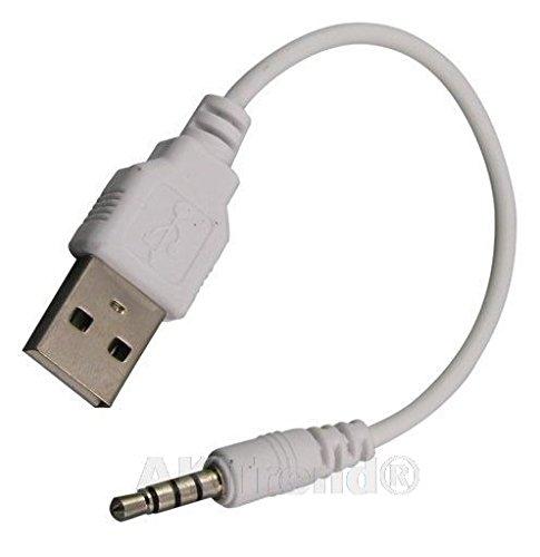 USB-Kabel Ladekabel Datenkabel für Apple iPod Shuffle 3G 4G G3 G4 4.G Ipod Shuffle 2g