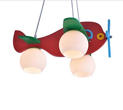 Kinderzimmerlampe modernen minimalistischen Schlafzimmer den kreativen Raum Kronleuchter Lampe Kronleuchter Kinderflugzeuge - 2