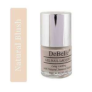 DeBelle Gel Nail Lacquer Natural Blush - 8 ml (Nude Nail Polish)