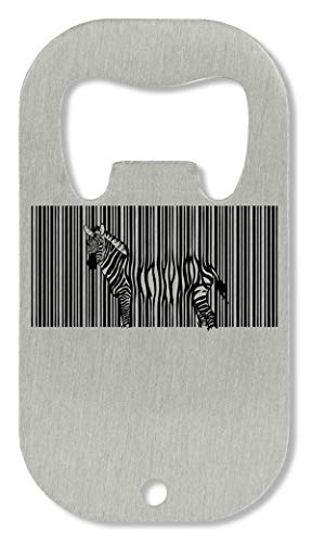 Zebra Barcode Black White Fashioned Photo Artwork