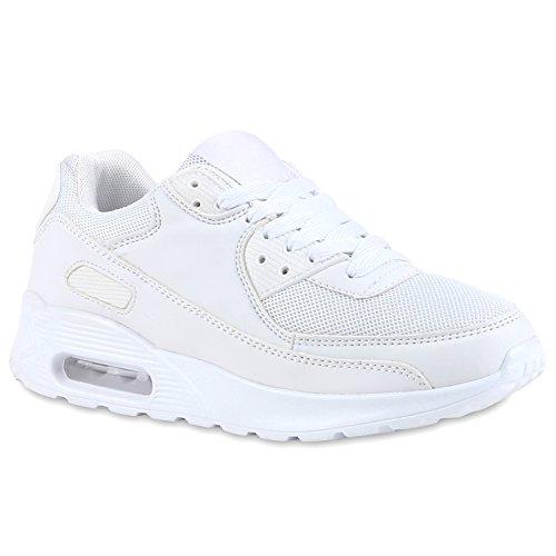 Damen Herren Unisex Laufschuhe Neon Runners Casual Schuhe Sportschuhe Weiß