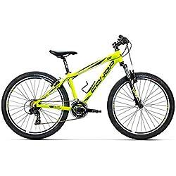 """Conor 5200 26"""" Bicicleta Ciclismo Unisex Adulto, (Amarillo), SM"""