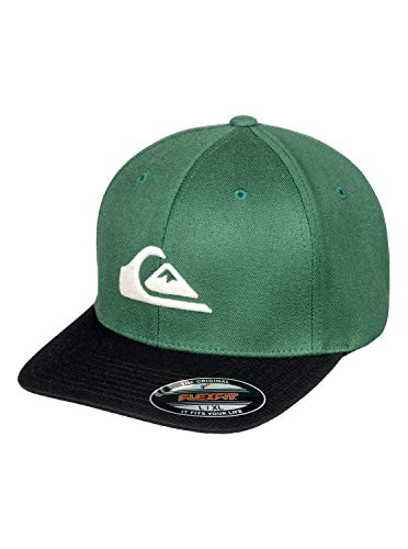 Quiksilver Mountain and Wave - Flexfit Cap - Flexfit-Kappe - Männer - Grün
