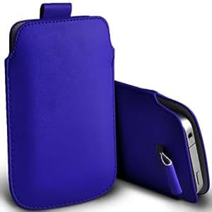 Bleu nr.960 par exemple pour mobiWire auriga/mobiWire cygnus taille xL avec auszugsband à retirer du téléphone **protection optimale pour votre sMARTPHONE **etui de protection à rabat en cuir synthétique avec languette de protection de téléphone portable étui de protection de téléphone portable