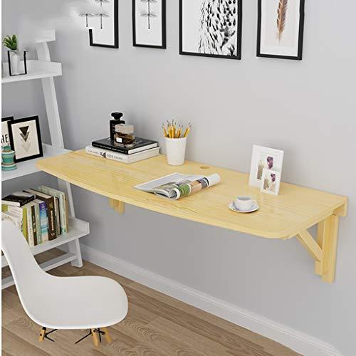Folding table Klapptisch an der Wand befestigte, tragbare Kiefer-Studientabelle, Computer-Schreibtisch, faltende Küche u. Speisetisch-Schreibtisch, Bürotisch-Schreibtisch Workstation - Verkauf Workstation