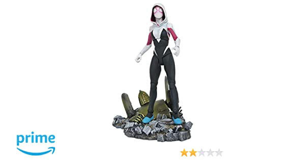 """6/"""" INCH //ca.17cm ACTIONFIGUR GWEN STACY MARVEL DIAMOND SELECT TOYS SPIDER-GWEN"""