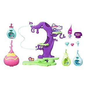TROLLS Trolls-C1306EU6 Casa del Árbol, Multicolor (Hasbro C1306EU6)