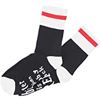 Lispeed 1 Pair Novelty Socks Master Has Given Dobby a Sock Dobby is Free Funny Crew socks Gift