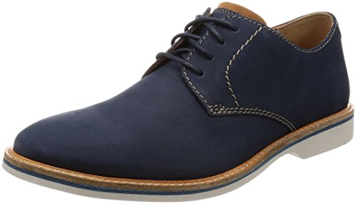 Clarks Mens Vennor Walk Derby Blue (navy)