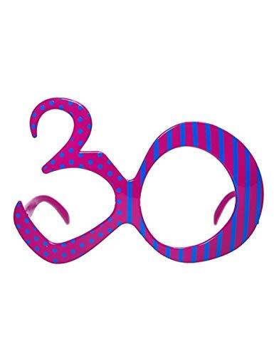 Party Deco Brillenform, 30 Stück