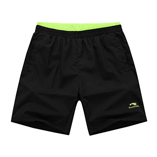 Mens Sports Running Shorts Light Weight Gym Workout with Pocket