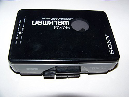Generic SONY WALKMAN PORTABLE CASSETTE PLAYER AM/FM RADIO WM-AF22