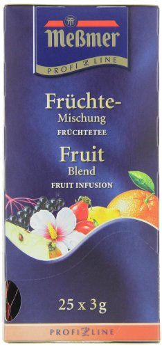 Meßmer ProfiLine Früchte 25 x 3 g, 3er Pack (3 x 75 g)