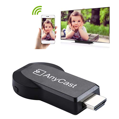 CELINEZL Ricevitore TV AnyCast M2 Plus Display Wireless WiFi Dongle  Receiver Airplay Miracast DLNA 1080P TV Stick HDMI per iPhone, Samsung e  Altri