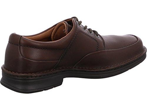 Clarks 20318965 Health Work, Chaussures À Lacets Pour Homme Noir (ébène)