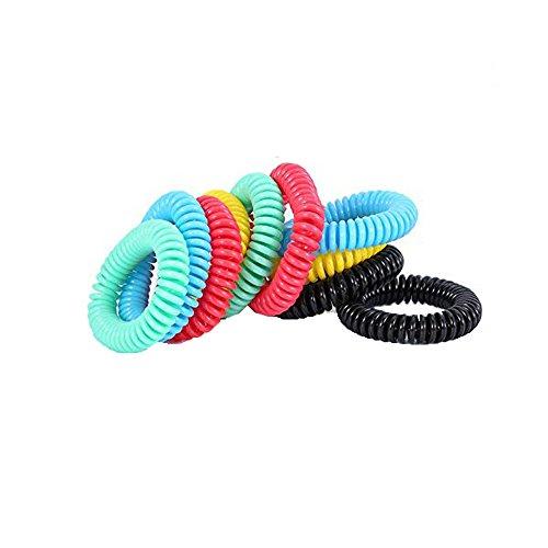 YA-Uzeun Mückenschutz-Armbänder, natürlich, 10 Stück -