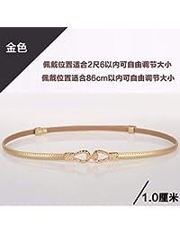 Extragroß Gold Schmetterling Schnalle Taille Gürtel mit Diamanten Besetzt