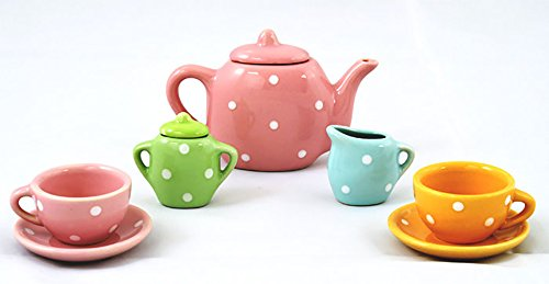 Vaibhav Creativity For Kids Art Craft Kit - Cute Mini Paint Your Tea Set
