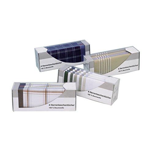Preisvergleich Produktbild DNP Herren Taschentücher 4er Pack