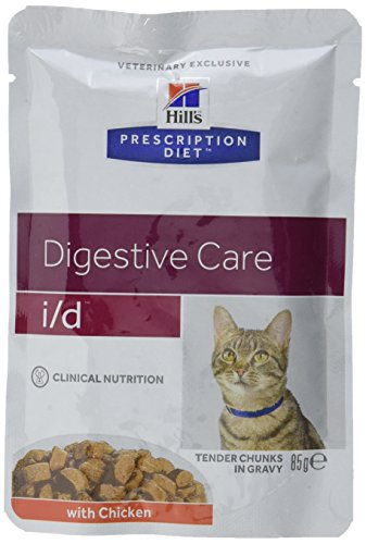 Hill's Prescription Diet I/D Gastrointestinal Gatto Bocconcini Al Pollo 12x 85gramms