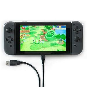 Nintendo Switch-Schnellladekabel, USB-C-Kabel, 1,5 m Kabel (auch kompatibel mit Samsung, Google Nexus & Pixel, Huawei)