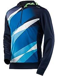 Cabeza de Hombre Visión Graphic sudadera con capucha, hombre, color azul marino, tamaño medium
