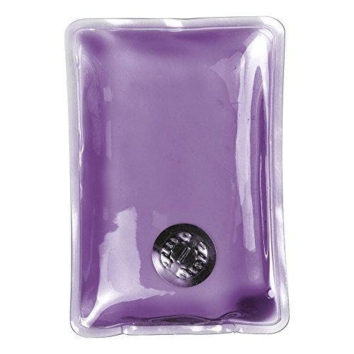 Handwärmer sofort wärmendes Gel wiederverwendbares Wärmepad zum Skifahren - Plastik, Violett