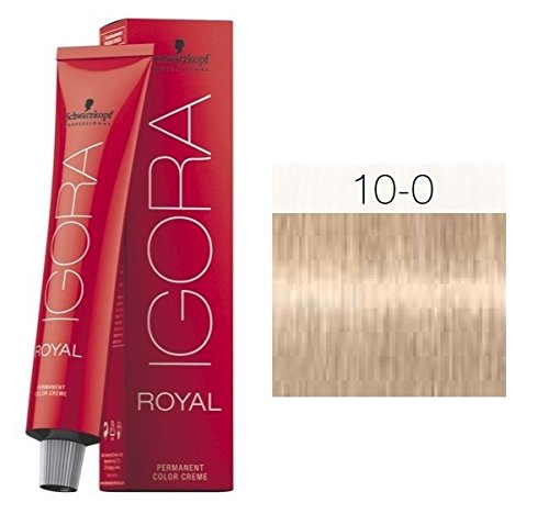 Tinte IGORA ROYAL 10-0 60 ml. + REGALO DE OXIGENADA