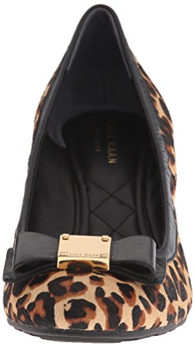 Pompe Cole Haan Tali Grand-Bow Wedge Ocelot Haircalf