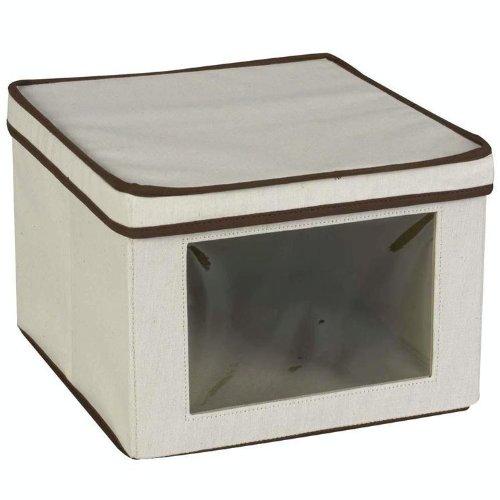 Haushalt Essentials 512mittel Poly/Baumwolle VISION Aufbewahrungsbox, 6 Vision Aufbewahrungsbox