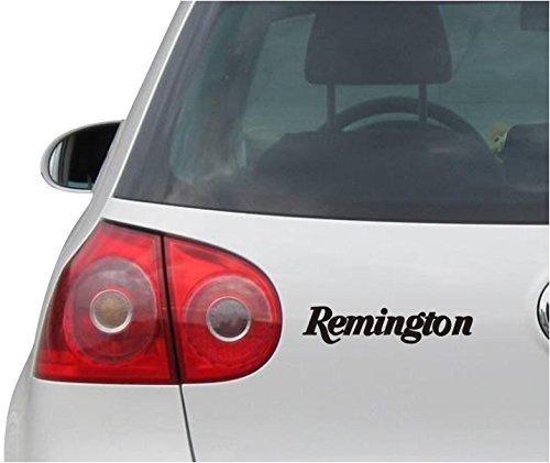 Aufkleber / Autoaufkleber - JDM - Die cut - Remington 870 Super Magnum Decal Window Sticker - schwarz - 149mmx30mm