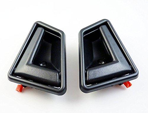 Schwarz vorne hinten innen Tür Griff Paar 8313056b015es New für Sidekick Tracker 1991–1998 (1992 Geo Tracker)